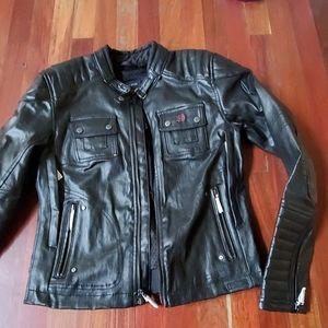 Harley Davidson quilted coated jacket new medium